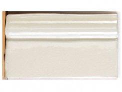 Плитка Бордюр Moldura Dark White 7.5*13