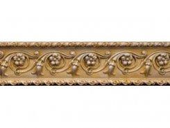 Плитка Бордюр Cenefa Flor Gold 7,5*30