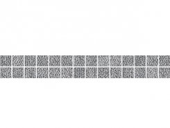Плитка Бордюр Listelo Medici Platinum 3.5*33.3
