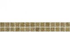 Плитка Бордюр Listelo Medici Gold 3.5*33.3