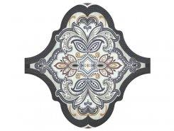 Плитка Декор Curvytile Lithium Samara Grey 26.5x26.5