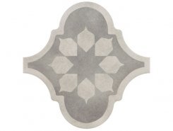 Плитка Декор Curvytile Factory Blume Grey 26.5*26.5