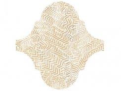 Плитка Декор Curvytile Lithium Zig-Zag Cream 26.5x26.5