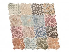 Плитка Curvytile Cotto Patchwork 26.5*26.5