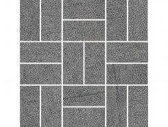 Декор SG17602 Ньюкасл серый темный мозаичный 30*30