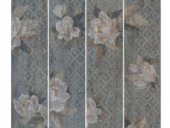 Керамогранит SG704600R Поджио Цветы серый 20х80