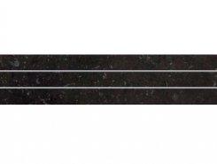 Бордюр SG603004R/6P Страна вулканов темно-серый сатинир 9,6*60
