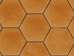Aquarius Beige Heksagon плитка напольная структур-я 26*26