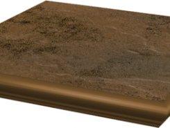 Semir Beige ступень угловая с носиком структурированная33*33*1,1