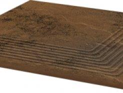 Semir Beige ступень угловая структурированная30*30*1,1