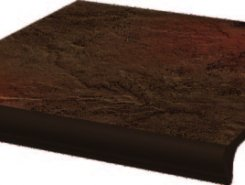 Semir Brown ступень простая с носиком структурированная30*33*1,1