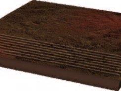 Semir Brown ступень простая структурированная30*30*1,1