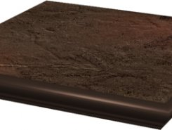 Semir Brown ступень угловая с носиком структурированная33*33*1,1