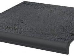 Semir Grafit ступень простая с носиком структурированная30*33*1,1