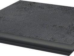 Semir Grafit ступень угловая с носиком структурированная30*33*1,1