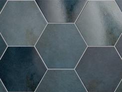 Плитка 24951 HERITAGE HEXAGONO Indigo 17,5х20 см