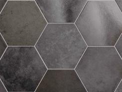 Плитка 24954 HERITAGE HEXAGONO Carbon 17,5х20 см