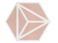Плитка VARADERO Rose 19,8x22,8 см