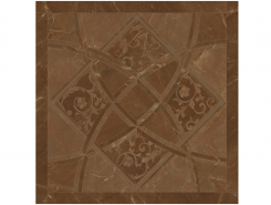 Плитка 262533 EMOTE FONDO INTARSIO Pulpis Marrone RET. 78x78 см