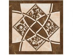 Плитка 262535 EMOTE FONDO INTARSIO Crema Marrone RET. 78x78 см