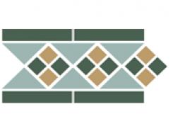 Border LISBON with 1 strip (Tr.13, Dots 18+03, Strips 18) 28х15 см