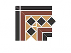 Corner GUILFORD 2 Strip Stand.(Dot14, Tr.1/2 21, Strip 20+14) 16,5х16,5 см