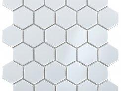 Hexagon small White Glossy (MT32000/IDL1001) 271х282х6