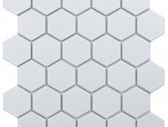 Hexagon small White Matt (MT31000/IDL1005) 271х282х6