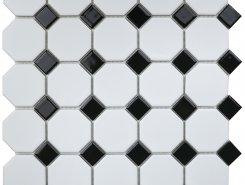 Octagon small White/Black Matt (NXWN51488/IDLA2575) 295х295х6