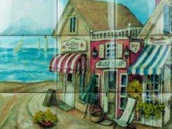 Панно BEACH 2 PICTURE 9 pz 15x15 (45x45)