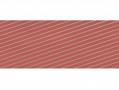 DECOR STRIPES STRAWBERRY 28*85