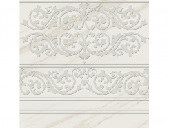 Плитка Пол Кер.гр. DEC.CENEFA VITREO BLANCO Rect.60x60