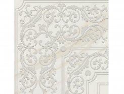 Плитка Пол Кер.гр. DEC.GIRO VITREO BLANCO Rect.60x60