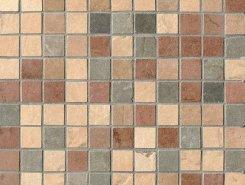 MIX FULL MOSAICO TESSERA (2.2X2.2) (amber, sand, terra, slate, forest)30.5x30.5