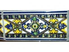 Декор Tabica Blanco Rombo 15х31