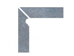 Cascata Velino blaugrau Profilsockelleiste li. Цоколь левый 31x7,3x31x7,3