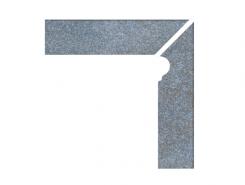 Cascata Velino blaugrau Profilsockelleiste re. Цоколь правый 31x7,3x31x7,3