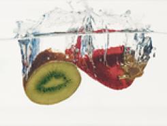 Decor Aqua Kiwi-Fresa Декор 10x20