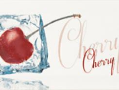 Decor Ice Cherry Декор 10x20