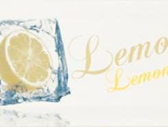 Decor Ice Lemon Декор 10x20