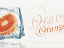Decor Ice Orange Декор 10x20