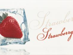 Decor Ice Strawberry Декор 10x20
