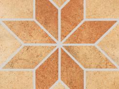 Mont Marte braun/beige Stern Декор 31x31