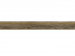 Бордюр Genesis коричневый 6х60