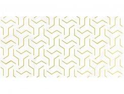 Плитка Декор Crystal Fractal белый 30х60