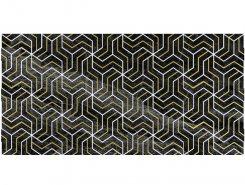 Плитка Декор Crystal Fractal чёрный 30х60