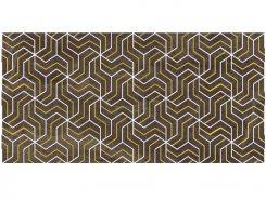 Плитка Декор Crystal Fractal коричневый 30х60