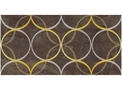 Плитка Декор Crystal Resonanse коричневый 30х60