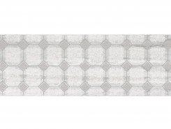 Плитка Декор Glossy серый 20х60