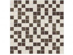 Плитка Мозаика Crystal коричневый+бежевый 30х30